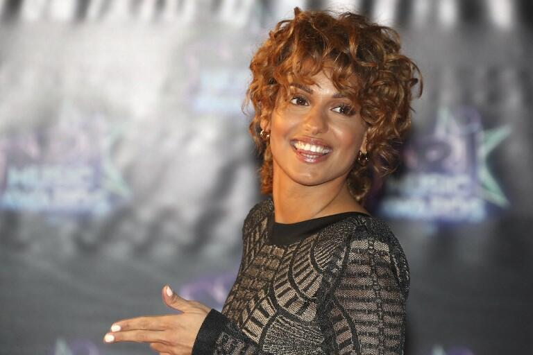 Французская певица Тал