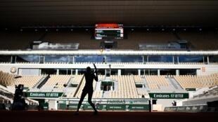 Roland-Garros, maior prova de ténis em França.