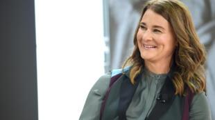 Melinda Gates en septembre 2017.