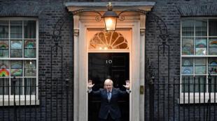 英国首相约翰逊 2020年4月30日 照片