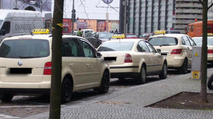 Des taxis allemands