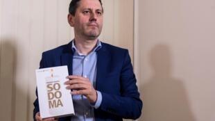 El periodista Frédéric Martel, autor de 'Sodoma'