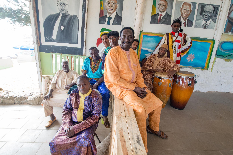 Le groupe Orchestra Baobab.