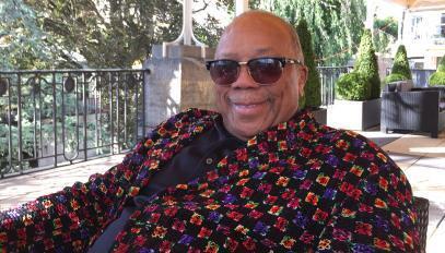 Quincy Jones à Montreux en juillet 2017.