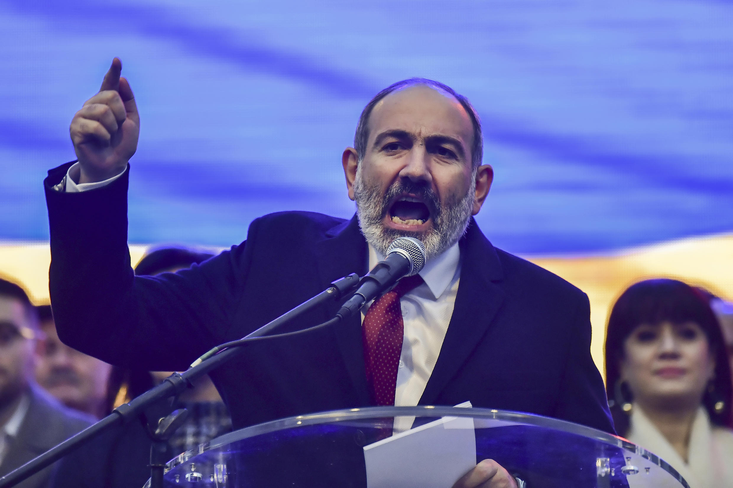 Armenian Prime Minister Nikol Pashinyan has been under pressure to step down after accepting a ceasefire with Azerbaijan, which many saw as a national humiliation