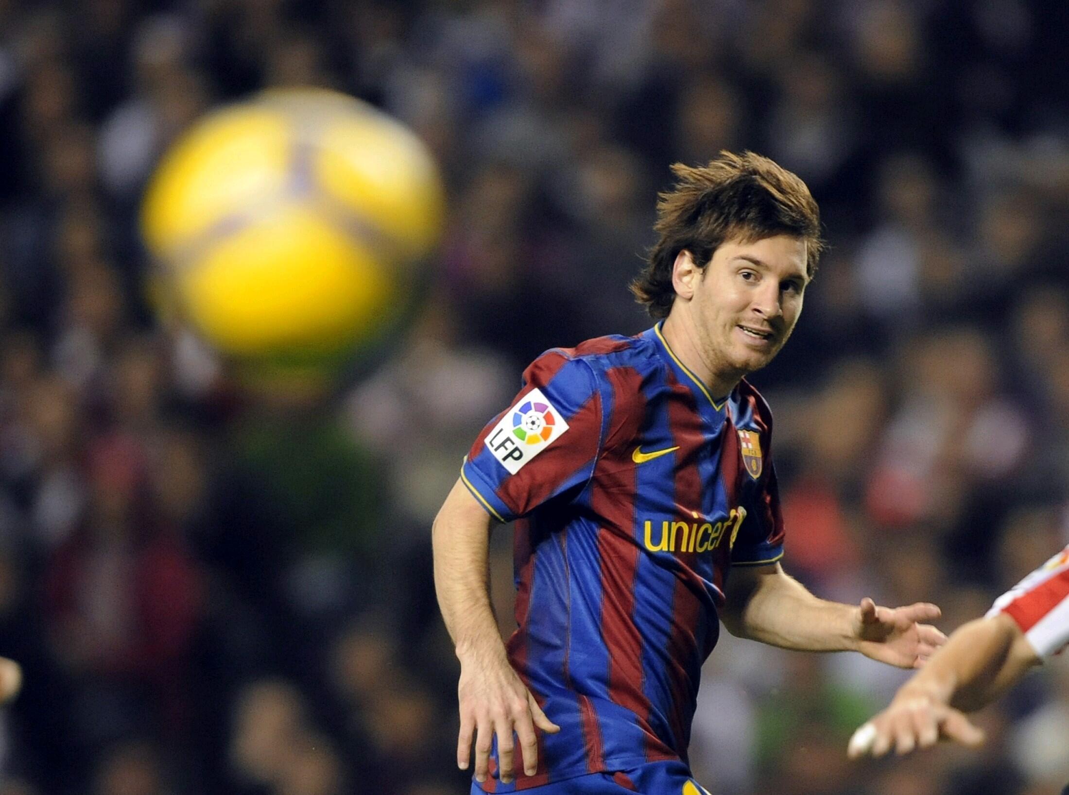 L'Argentin Lionel Messi.