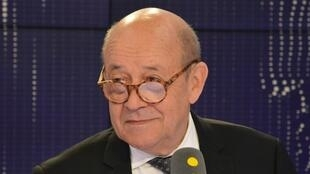 Jean-Yves Le Drian, ministre de l'Europe et des Affaires étrangères, le 1er août 2018.