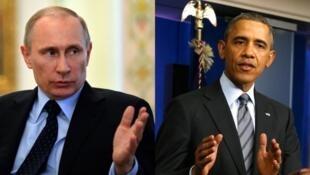 Obama  - Putin (T) : một cuộc chiến tranh 'tiêu hao' ?