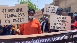 Tchad - femmes - manifestation - droit des femmes - Ndjamena - N'djamena