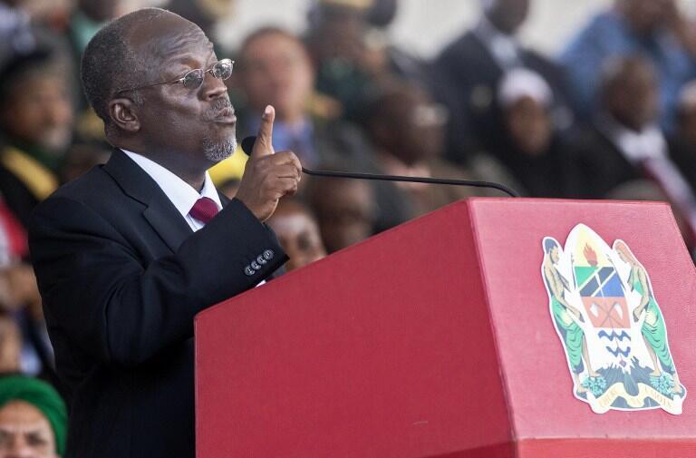 Le président tanzanien décédé John Magufuli.