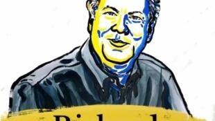 El economista estadounidense Richard Thaler obtuvo el lunes el Premio Nobel de Economía