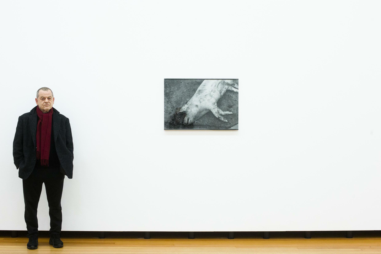 Le photographe allemand Michael Schmidt à Berlin, le 11 janvier 2013.