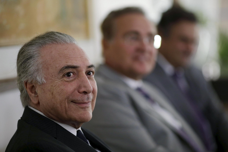 Michel Temer, futur président intérimaire du Brésil.