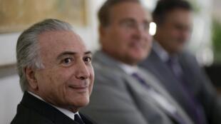 Michel Temer, presidente interino do Brasil.