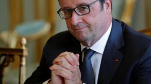 O presidente francês François Hollande será sabatinado nesta quinta-feira, 14 ao vivo na televisão francesa.