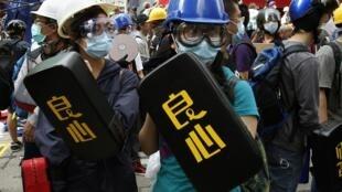 存档图片:香港 2014年11月26日