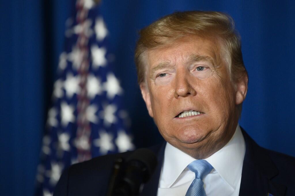 O  Presidente dos Estados Unidos, Donald Trump. 03 de Janeiro  de 2020