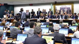 Reunião da Comissão Especial do Impeachment desta quarta-feira.