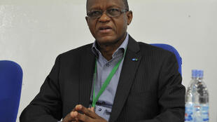 Le Nigérien Maman Sidikou, ici comme représentant spécial de l'Union africaine pour la Somalie en février 2015, représente depuis début 2016 l'ONU en RDC.