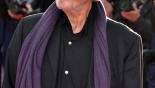 O diretor de cinema francês Édouard Molinaro durante o Festival de Deauville de 2009.