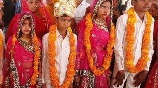 Child marriages have registered a spike in rural India during the pandemic.