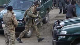 Wasu dakarun kungiyar NATO, da ke aiki a Afghanistan