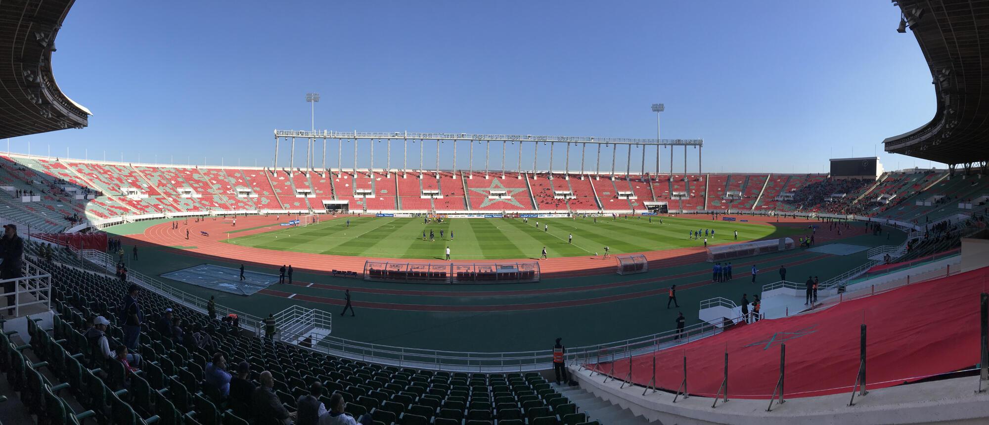 Le Stade de Rabat.