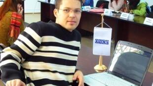 Pуководитель сайта «Альтернативные новости Туркменистана» Руслан Мятиев, 2008 год.
