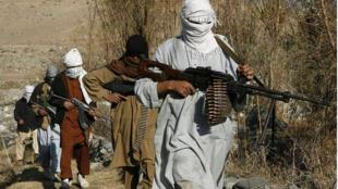 Wasu daga cikin mayakan Taliban