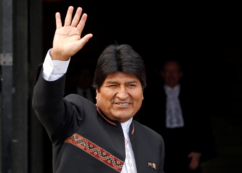 O presidente boliviano, Evo Morales, quer um quarto mandato consecutivo.