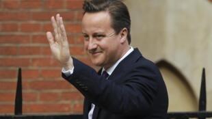 David Cameron, premiê britânico, chega à Corte Suprema de Londres nesta quinta-feira.