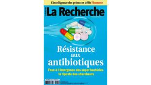 Couverture du magazine «La Recherche» du mois de septembre 2016.