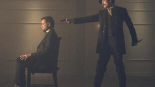 «Killing Lincoln», le docu-fiction sur l'assassinat d'Abraham Lincoln, sera diffusé en France le 14 mars. (Photo: capture d'écran de la bande-annonce de «Killing Lincoln»).