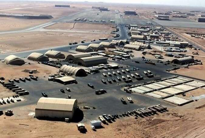 پایگاه نظامی آمریکا در کویت