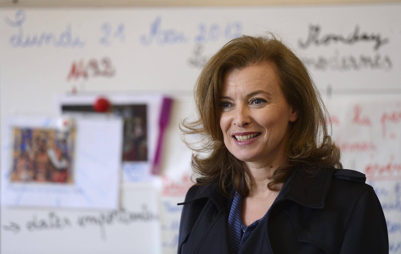 Valerie Trierweiler, companion of French President François Hollande