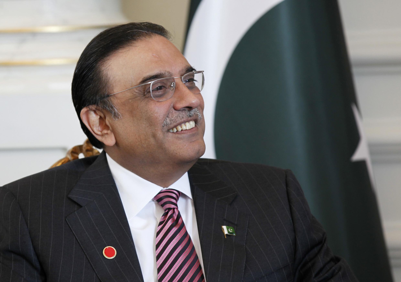 Cựu tổng thống Pakistan Asif Ali Zardari. Ảnh chụp năm 2011.