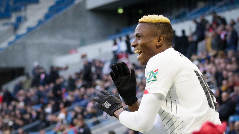 Wasan Najeriya dake kungiyar Lille a Faransa, Victor Osimhen.