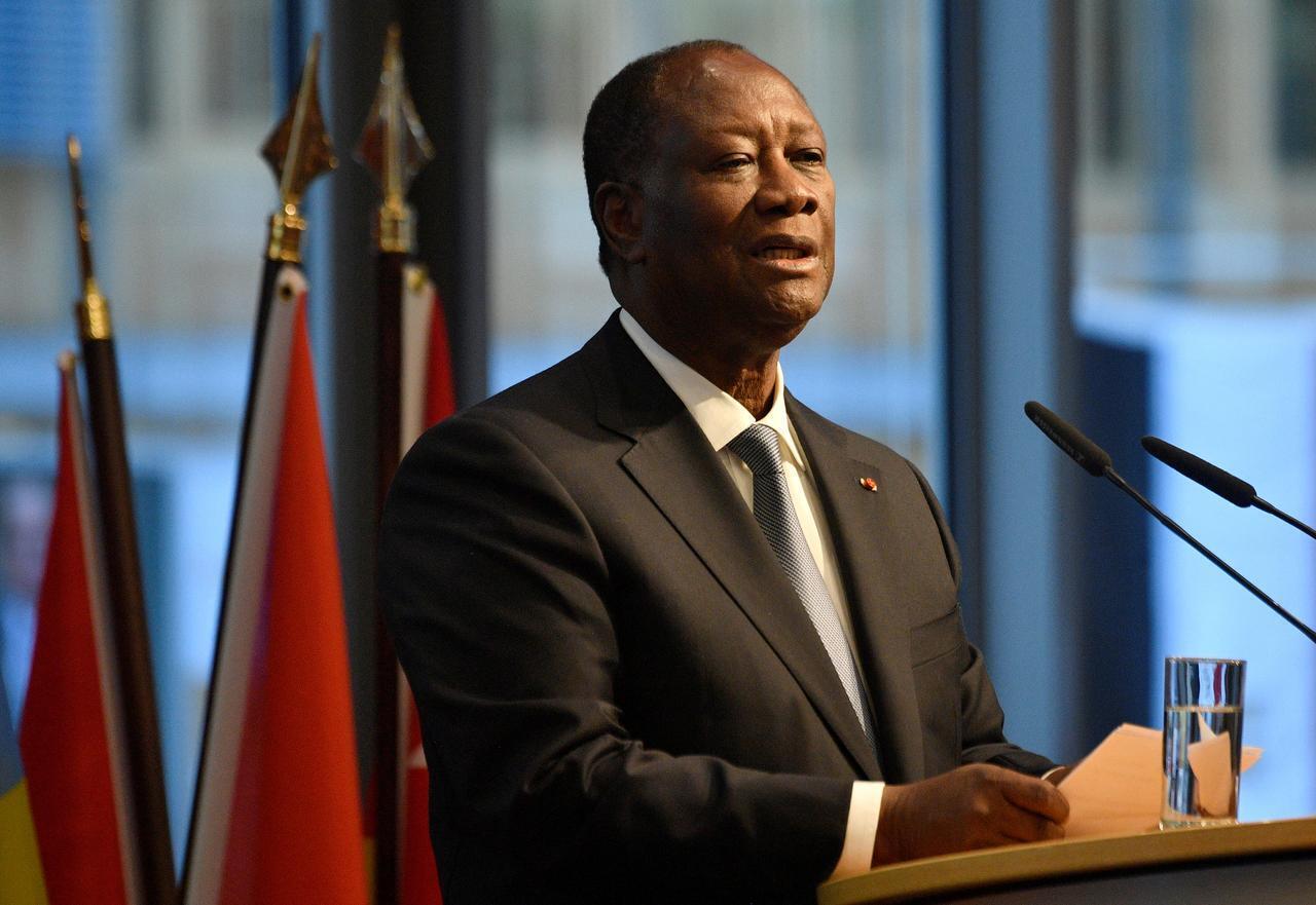 Shugaban kasar Senegal Alassane Ouattara.