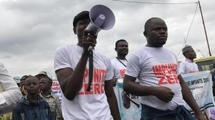 Maandamano jijini Kinshasa