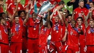 Kingsley Coman beat his boyhood team Paris Saint-Germain to win the Champions League with Bayern Munich