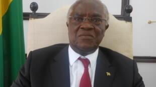 Manuel Pinto da Costa, presidente cessante de São Tomé e Príncipe