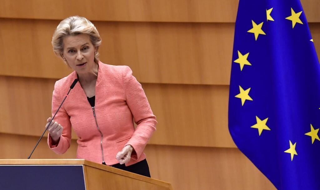 """A presidente da Comissão Europeia dise hoje que na proxima semana será apresentado um novo pacto migratório europeu que servirá para sarar """"as feridas abertas"""" na União Europeia através de uma """"visão humanitária"""""""