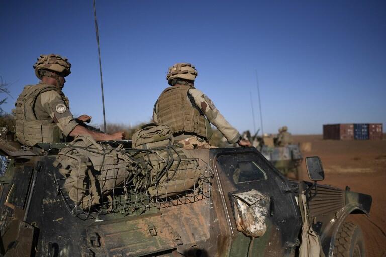 Des soldats français au Sahel en janvier 2017.