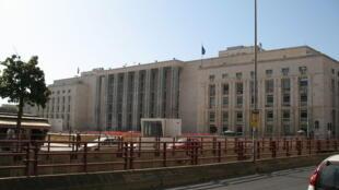 Palais de justice de Palerme, Italie.