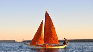 Capucine TROCHET, navigatrice malgré son handicap