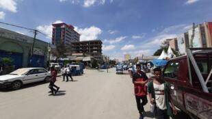 Une vue de la ville de Mekelle, Éthiopie, mai 2021.