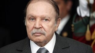 Algeria's President Abdelaziz Bouteflika is seen at the presidential palace in Algiers, in this file picture taken December 11, 2011.