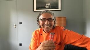 法国米其林星级厨师提倡用茶叶做法餐的Alain Alexanian接受法广专访,2019年9月。