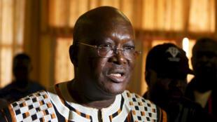 Roch Marc Christian Kaboré, président de la République du Burkina Faso.