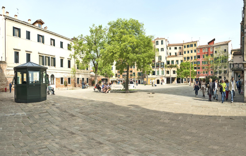 Главная площадь Венецианского гетто.
